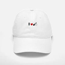 I (heart) Cycling Baseball Baseball Cap