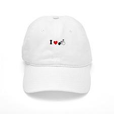I (heart) Cycling Baseball Cap