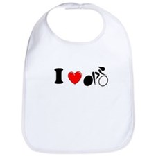I (heart) Cycling Bib