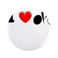 "I (heart) Cycling 3.5"" Button"