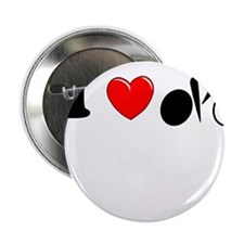 """I (heart) Cycling 2.25"""" Button (100 pack)"""