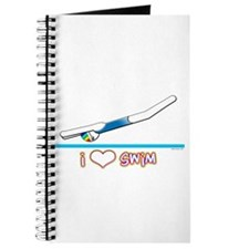 i Love Swim (girl) Journal