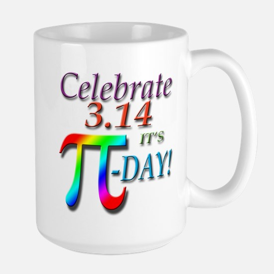 Pi Day Large Mug