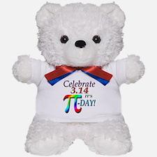 Pi Day Teddy Bear