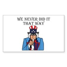 Our out of touch congressmen and senators Decal