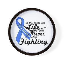 Prostate Cancer Survivor Wall Clock