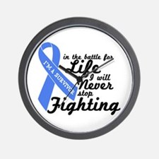 Prostate Cancer Survivor Wall Clock
