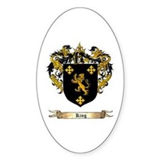 King Shield of Arms Decal