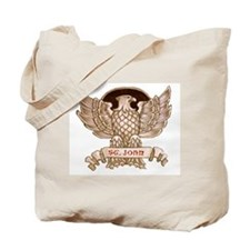 St. John Eagle Tote Bag