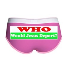 Who Would Jesus Deport Women's Boy Brief