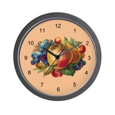 FRUIT BUNCH-Wall Clock