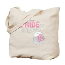 Pride & Sacrifice Navy Mom Tote Bag