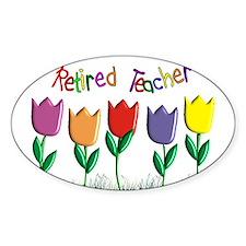 retired teacher Decal