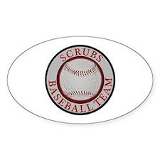 Scrubs Baseball Team Decal