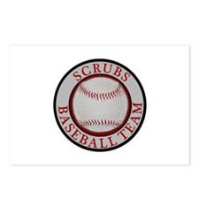 Scrubs Baseball Team Postcards (Package of 8)