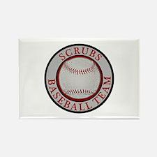 Scrubs Baseball Team Rectangle Magnet (10 pack)