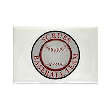 Scrubs Baseball Team Rectangle Magnet