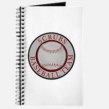 Scrubs Baseball Team Journal