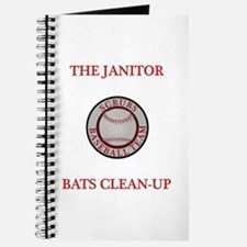 The Janitor Bats Clean-Up Journal