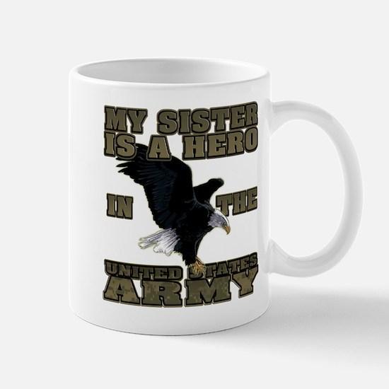 Army Hero Sister Mug