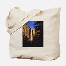 Day's Last Light, Bridalveil Fall, Yosemite Tote B