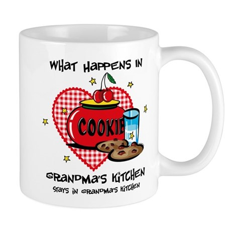 Happens In Grandma's Kitchen Mug