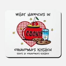 Happens In Grandma's Kitchen Mousepad