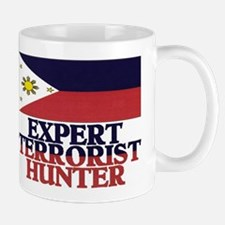 PHILIPPINE FLAG EXPERT TERRORIST HUNTER Mug