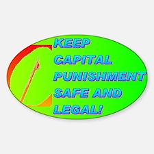 KEEP CAPITAL PUNISHMENT Decal
