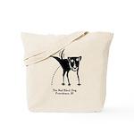 The Bad Black Dog Tote Bag