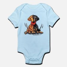 Smooth Dachshund Lover Infant Bodysuit
