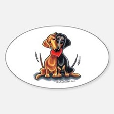 Smooth Dachshund Lover Decal
