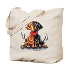 Smooth Dachshund Lover Tote Bag