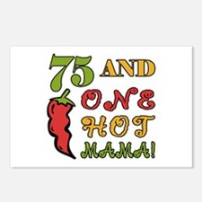 Hot Mama At 75 Postcards (Package of 8)