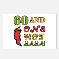 Hot Mama At 60 Postcards (Package of 8)