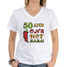 Hot Mama At 50 Shirt