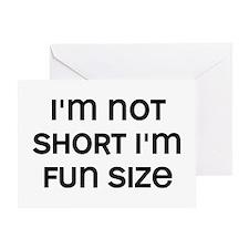 I'm Fun Size Greeting Card