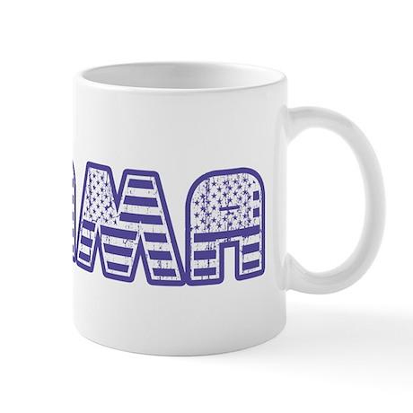 Stars and Stripes Obama Mug