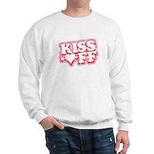 Kiss Off Anti-Valentine Sweatshirt