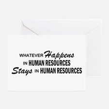 Whatever Happens - Human Resources Greeting Cards