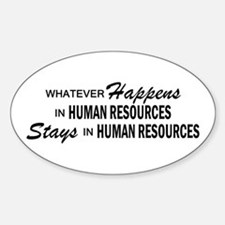 Whatever Happens - Human Resources Decal