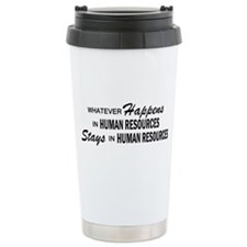 Whatever Happens - Human Resources Travel Mug