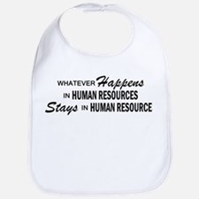 Whatever Happens - Human Resources Bib