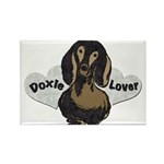 Doxie Lover Rectangle Magnet (100 pack)