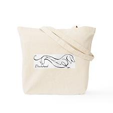 I Love My Dachshunds Tote Bag