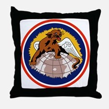 100th Fighter Squadron Throw Pillow
