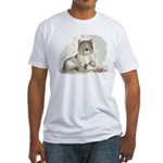 Sheepdog Surprise Fitted T-Shirt