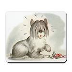 Sheepdog Surprise Mousepad