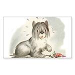 Sheepdog Surprise Sticker (Rectangle 50 pk)
