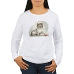 Sheepdog Surprise Women's Long Sleeve T-Shirt